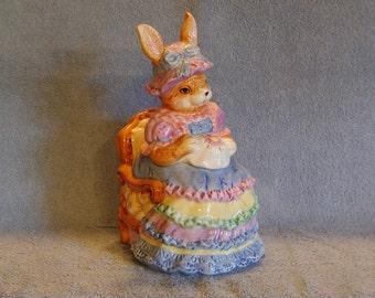 Rabbit Cookie Jar - World Bazaar