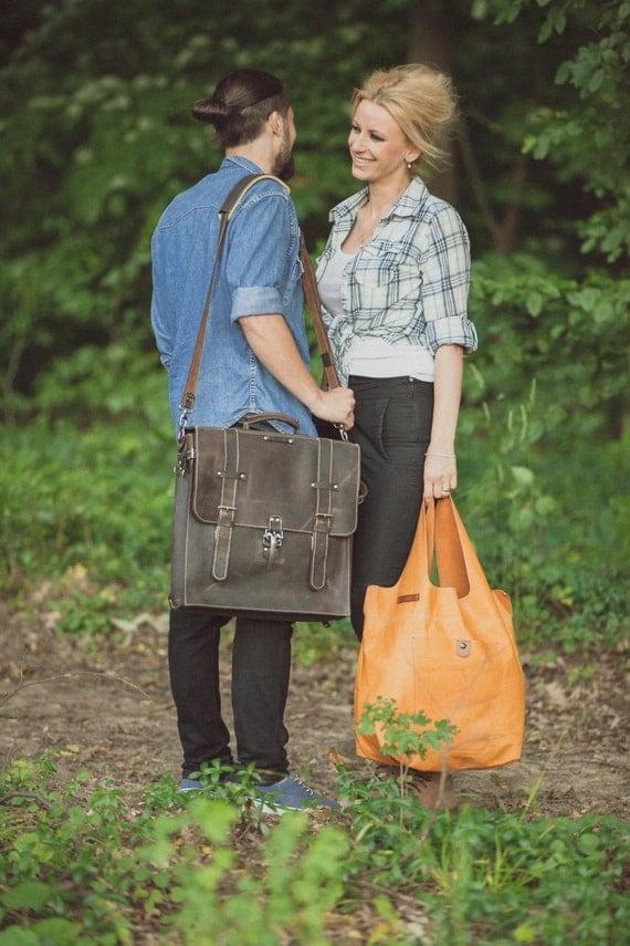 Hobo Bag, Caramel Leather Tote Bag, Caramel Tote Leather Bag, Tote Leather Bag, Shoulder Bag, Handmade Bag, Woman