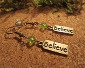 Believe Message Dangle Ea...