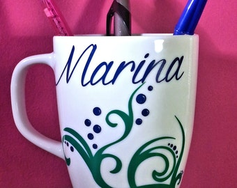 Sea bed MUG: custom it with what you like! DECAL