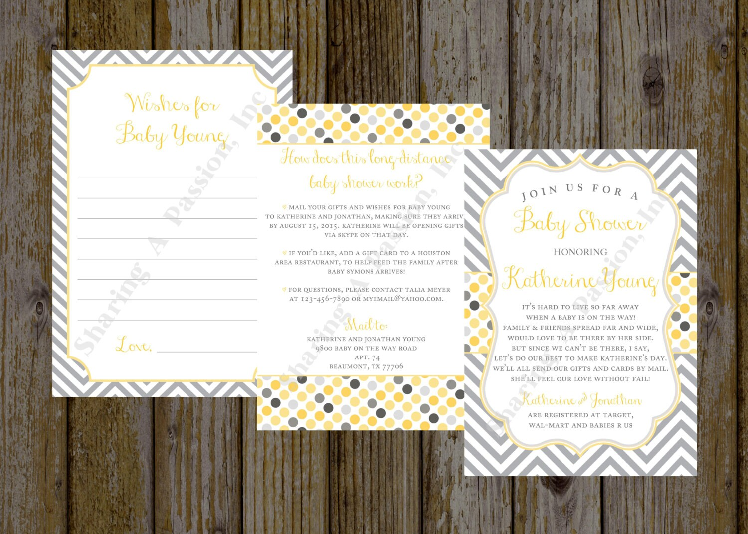 Long Distance Baby Shower Invitations is the best ideas you have to choose for invitation example