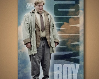 """TOMMY BOY """"Does This Suit Make Me Look Fat"""" Movie Quote Poster"""
