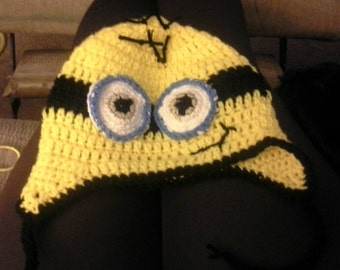 Minion hat for baby, toddler, child, adult