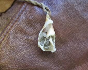 Generates Orgone Shell Orgonite Love Gaia Pendant Leather Cosmic Soul Gems