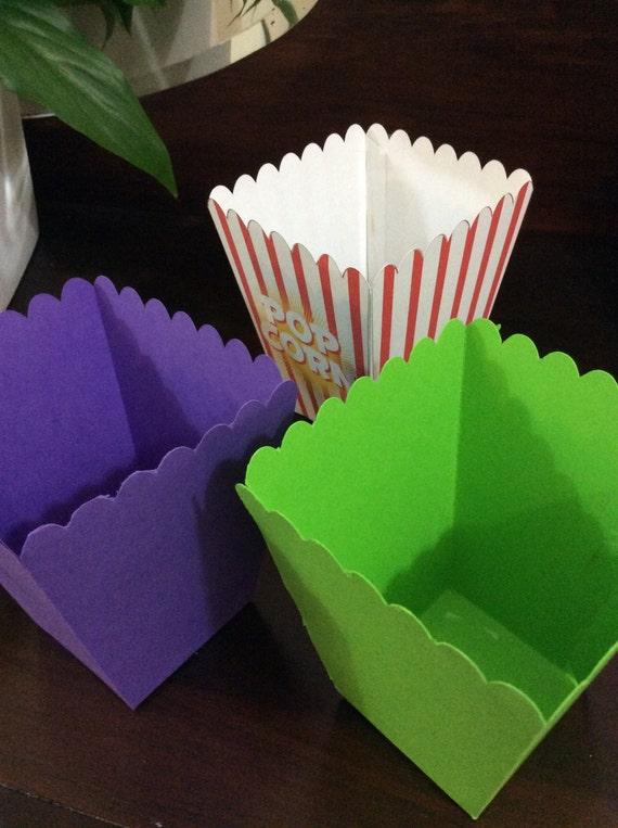 Svg Cut Files Popcorn And Pjs Movie Night Popcorn Box
