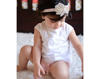 Rhinestones Headband, Baby Headband, Toddler Headband, Wedding Headband, Fancy Headband, Sassy Headband,