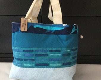 Quilted Project Tote Bag