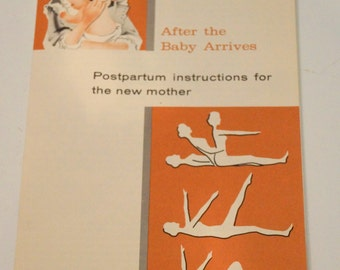 Vintage Pamphlet After the Baby Arrives