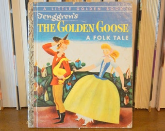 The Golden Goose A Folk Tale, Little Golden Book