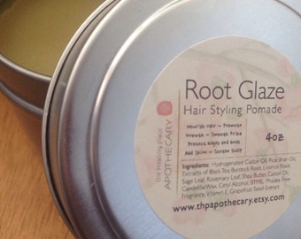 Natural Hair Care, Root Glaze Hair Pomade 4 oz