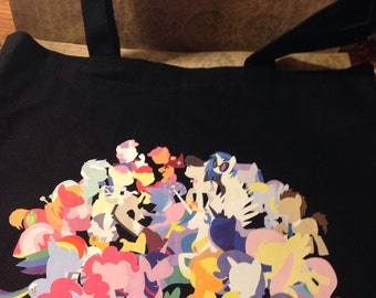 My Little Pony Group Picture Tote Bag