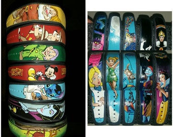 Hand Painted Magic Band: Your character of choice