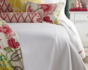 Send me your fabric ? custom bedding, window treatments, curtains, window valances, bedding, shams, bedskirts