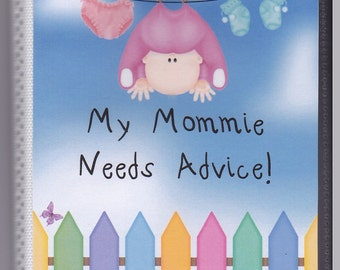 Baby Shower Advice/Activity Books Baby Clothesline