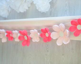 Party Garland/ Paper Flowers/ Wedding Decor/ Photo Booth Backdrop/ Birthday Garland/ Baby Shower/ Bridal Shower/ Nursery Wall/ Nursery Decor