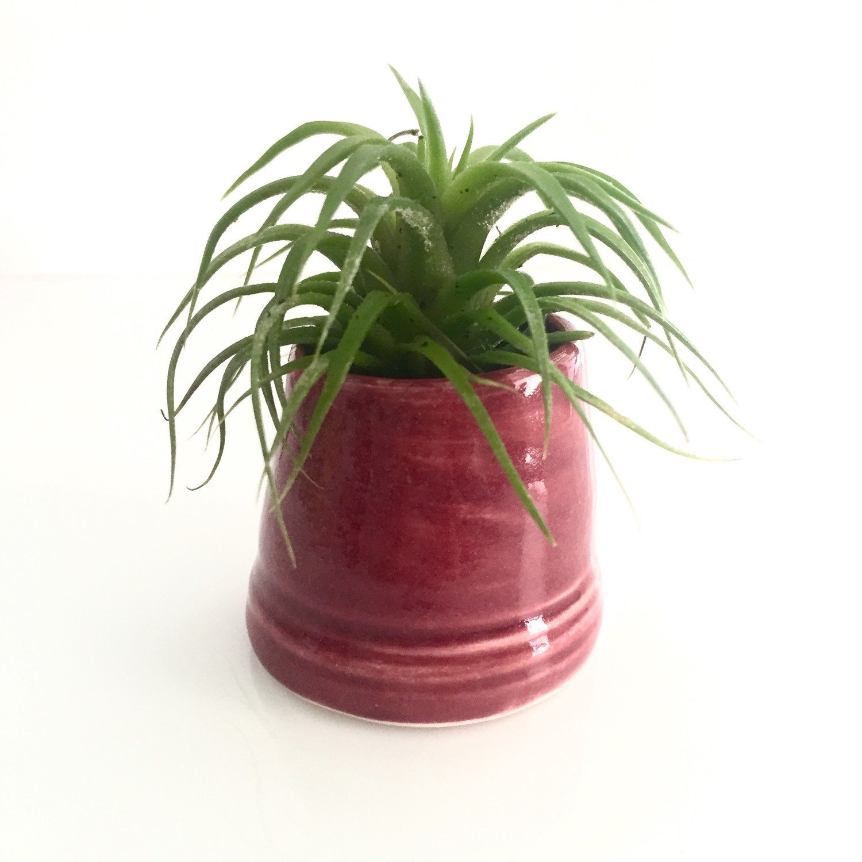 Hdc26 air plant holder vase firelight pottery home decor for Air vase