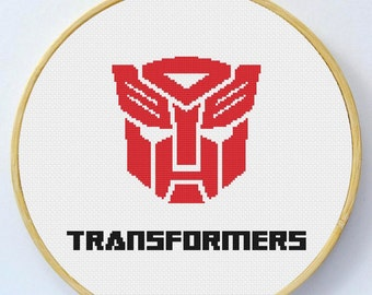 Transformers Cross Stitch Pattern - Instant Download