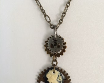 Simply Steampunk Necklace #2