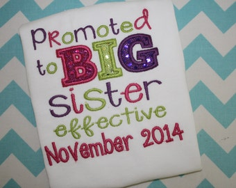 Promoted to Big Sister/Brother