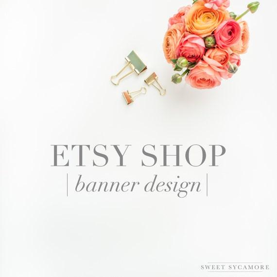 Etsy shop banner desig...