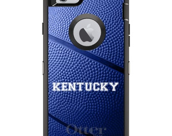 Wildcats OtterBox Defender / Apple iPhone OR Samsung Galaxy / Kentucky Basketball / Custom Personalized Monogrammed / Any Color / Any Font