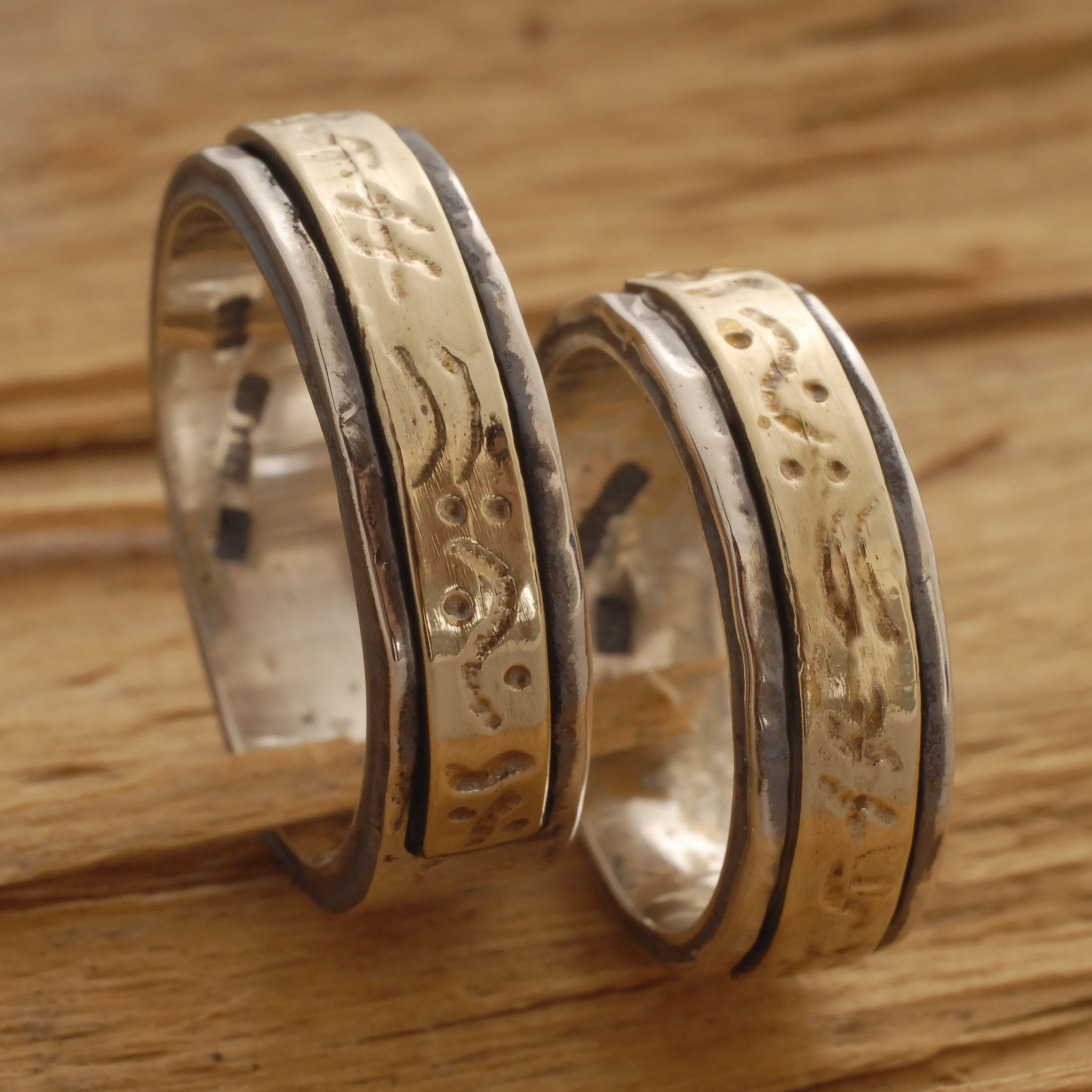 Sterling Silver and Gold Jewelry from by SilverJewelleryPlus