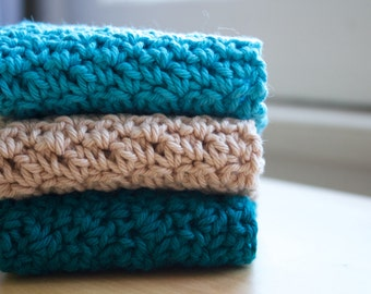 The Basic Dish Cloth, Set of 3