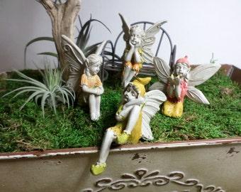Fairy Garden Fairy Fidget Toy Elfin Pixie Miniature Gardening Enchanted Garden Container Gardening Terrarium Kit Fairy Garden Supply Faeries