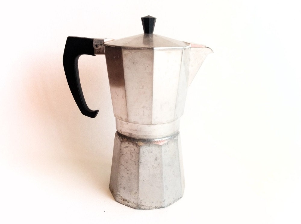 Italian Coffee Maker Best Coffee : Italian Express Coffee Maker Non-electric Stove top Espresso