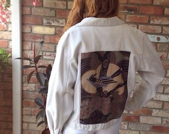 Recycled Custom Designed Jean Jacket