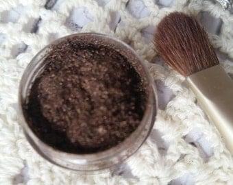 Brown Eye Shadow - Mocha Eye Shadow - Mineral Makeup - Dark Eye Shadow - Chocolate Eye Shadow - Eye Shadow Powder - Organic Makeup