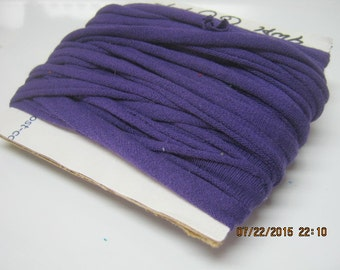 PURPLE T SHIRT YARN Tarn upcycled t shirt yarn great for crochet