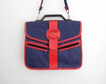 Vintage bag // 70's Schneiders shoulder bag // NOS