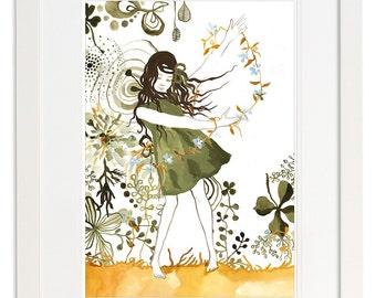 Spring Jasmin Art Print