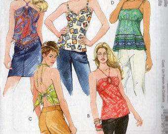 McCall's Pattern 5102 SUMMER TOPS  Misses Sizes Lrg Xlrg