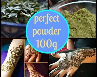 100 grams Organic Rajasthani Henna Powder