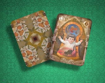NEW!  Samhain Vintage Lenormand - LIMITED EDITION for 2015