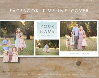 Facebook Timeline Cover - timeline cover template - Facebook Photography Timeline Cover - timeline template
