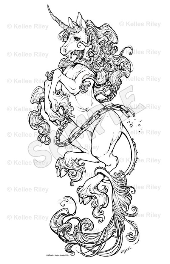 adult coloring pages unicorns - photo#16