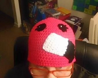 Crochet Pink Flamingo Hat