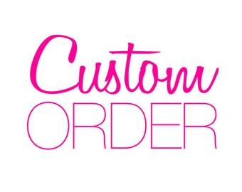 custom add on order