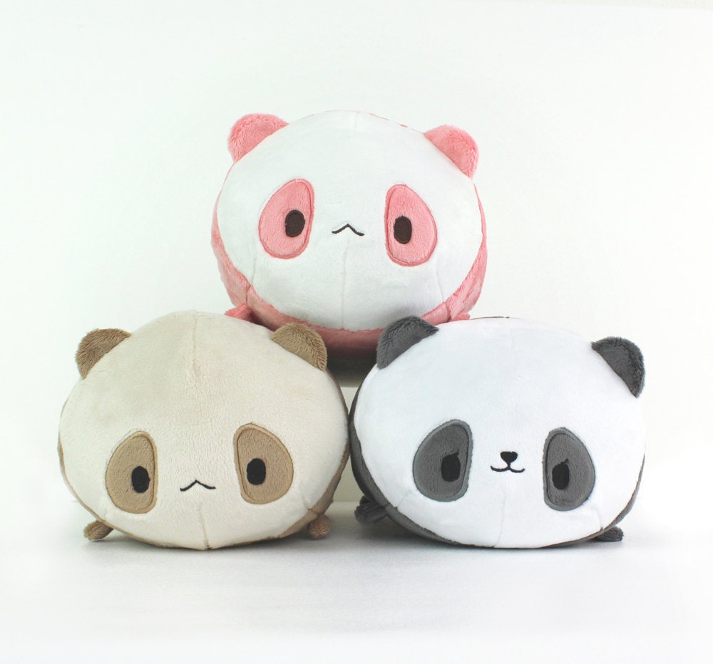 Pdf Sewing Pattern Panda Bear Roll Plush Stacking Loaf