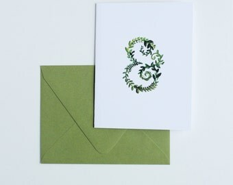 Spring Ampersand Card