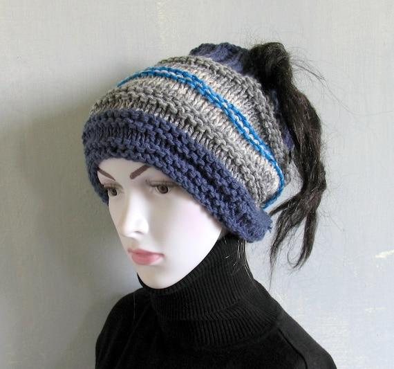 Dreadlock tube Hat Headband Head Wrap Knit by artwardrobe