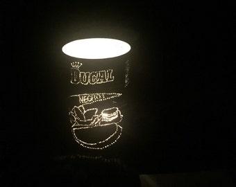 Bean can lantern