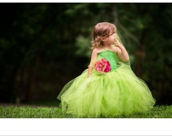 Tulle Fairy Dress, Enchanted Fairy Dress, Garden Fairy Party Dress