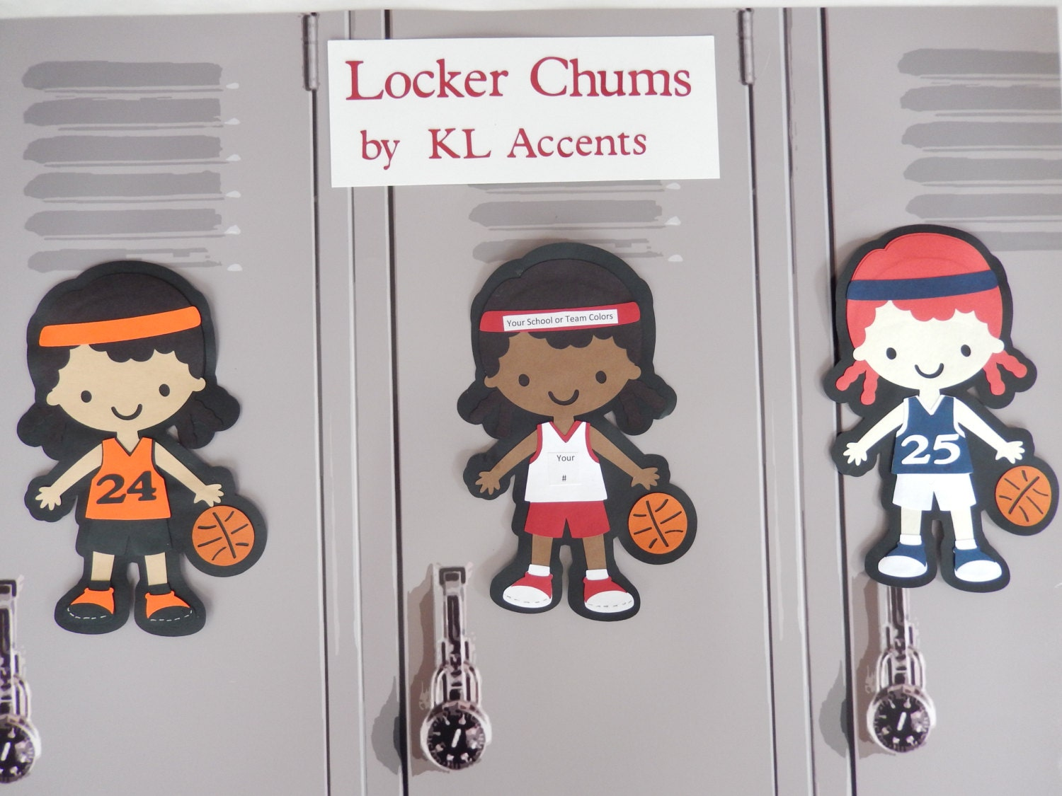 cheerleading locker decorations.  zoom Basketball Locker Decorations Personalize your own