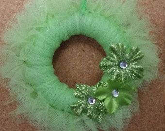 miniature wreath ornaments