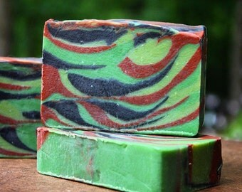 Soap-Camo Soap, natural, out doors, scent, handmade