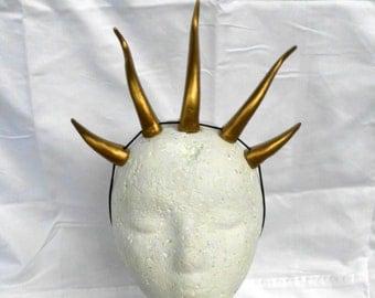 "Dragon Horns Headband Horn Demon  MLP Horn Headband Devil Dragon Costume Cosplay Lightweight 5""  Headdress"